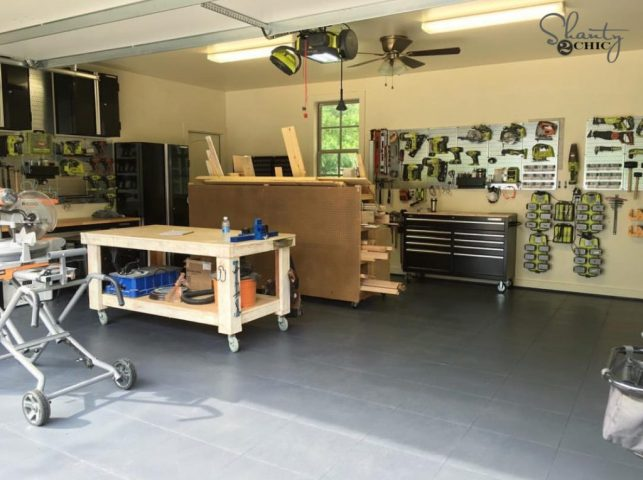 Garage Floor Tiles Shanty2Chic