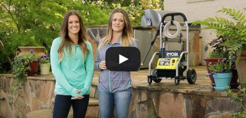 Ryobi Pressure Washer Video