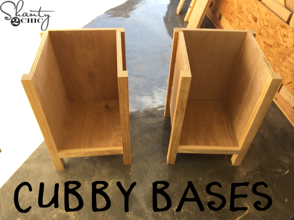 cubby-bases