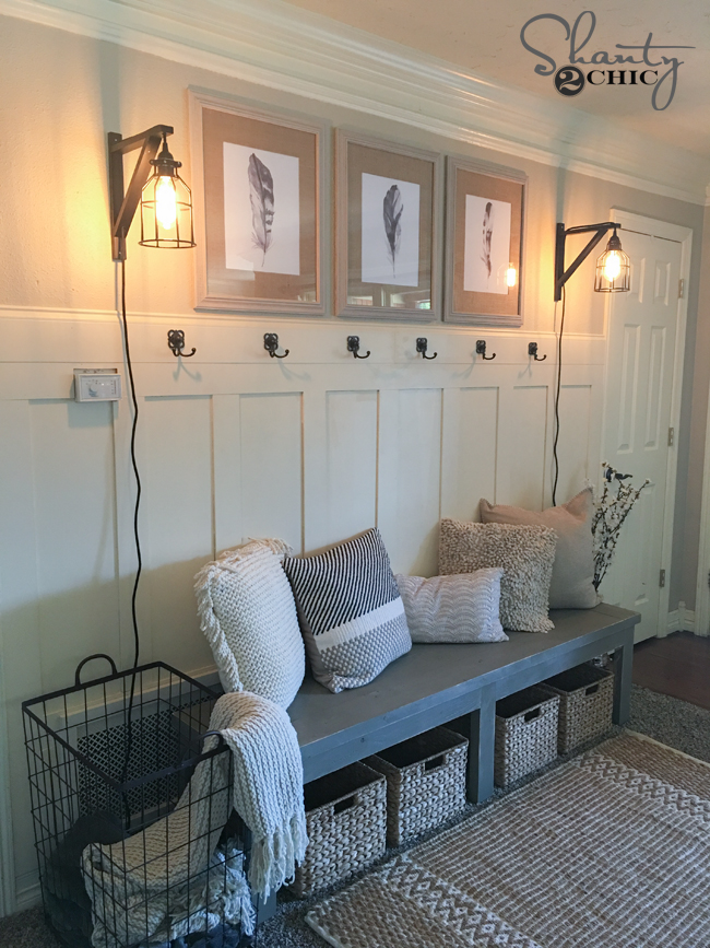 DIY Board And Batten Wall Amp YouTube Video Shanty 2 Chic