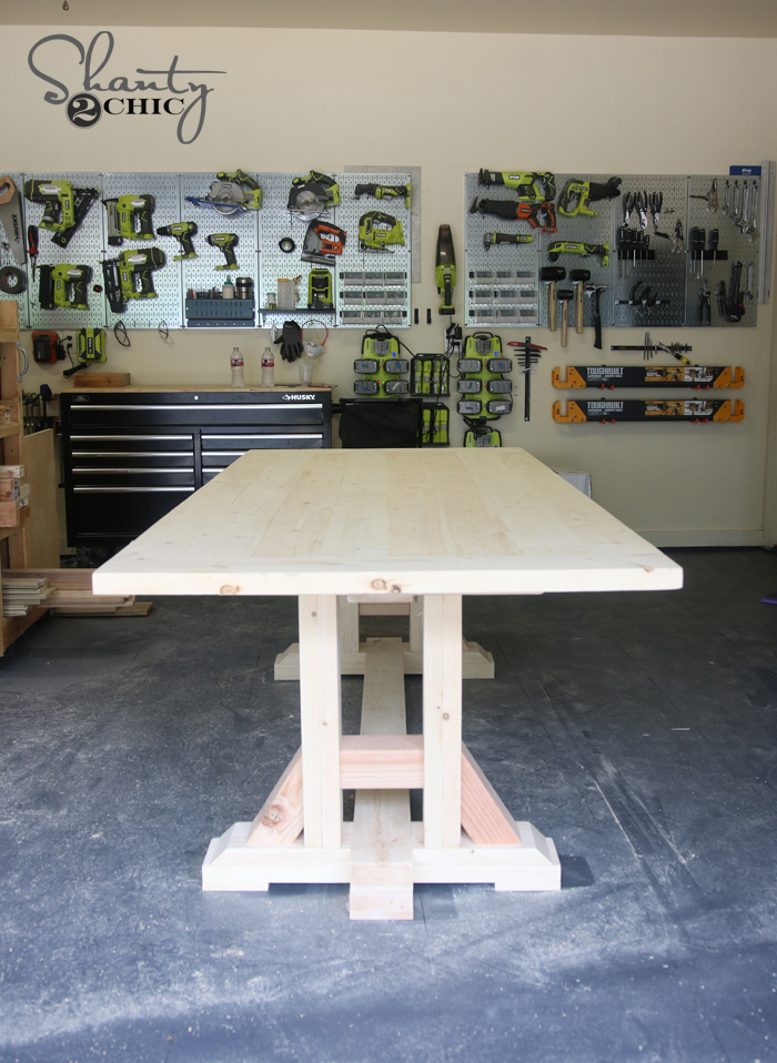 DIY dining table built for under $100