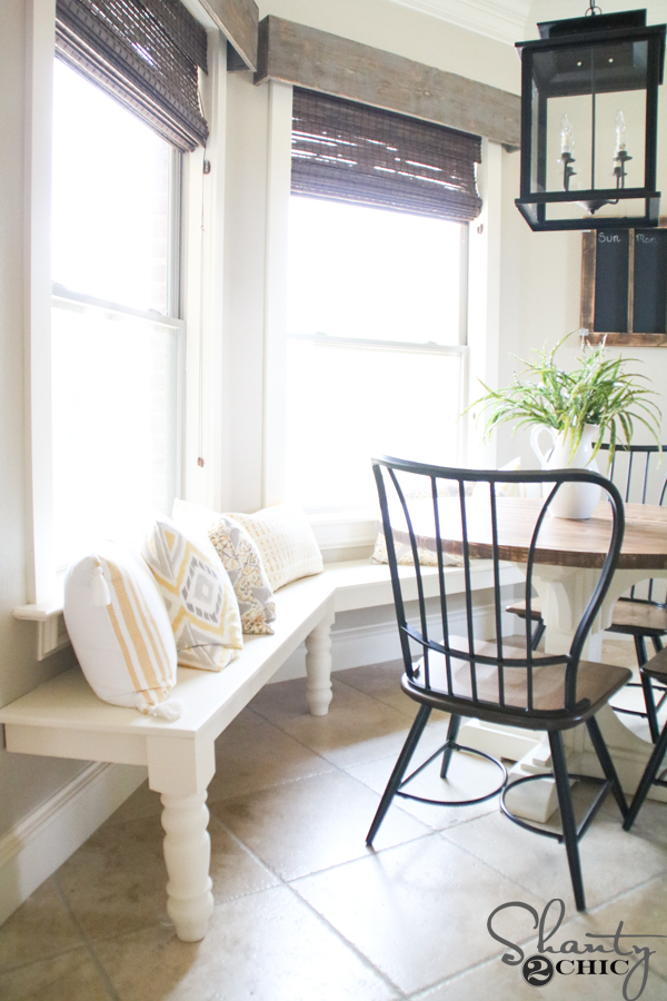 Stupendous Diy Window Bench Shanty 2 Chic Alphanode Cool Chair Designs And Ideas Alphanodeonline