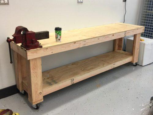 Pleasing Garage Work Bench Shanty 2 Chic Machost Co Dining Chair Design Ideas Machostcouk