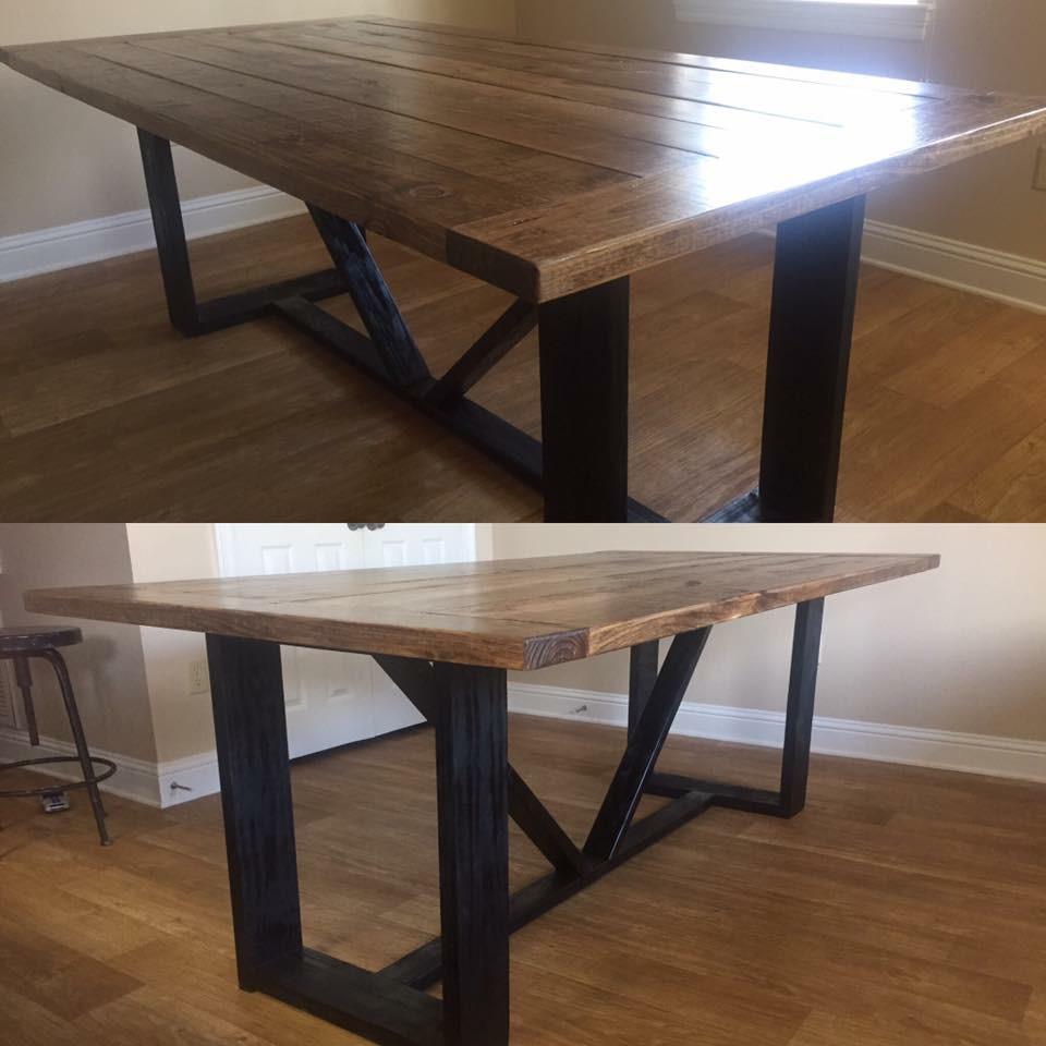 Modern Farmhouse Dining Table Shanty 2 Chic