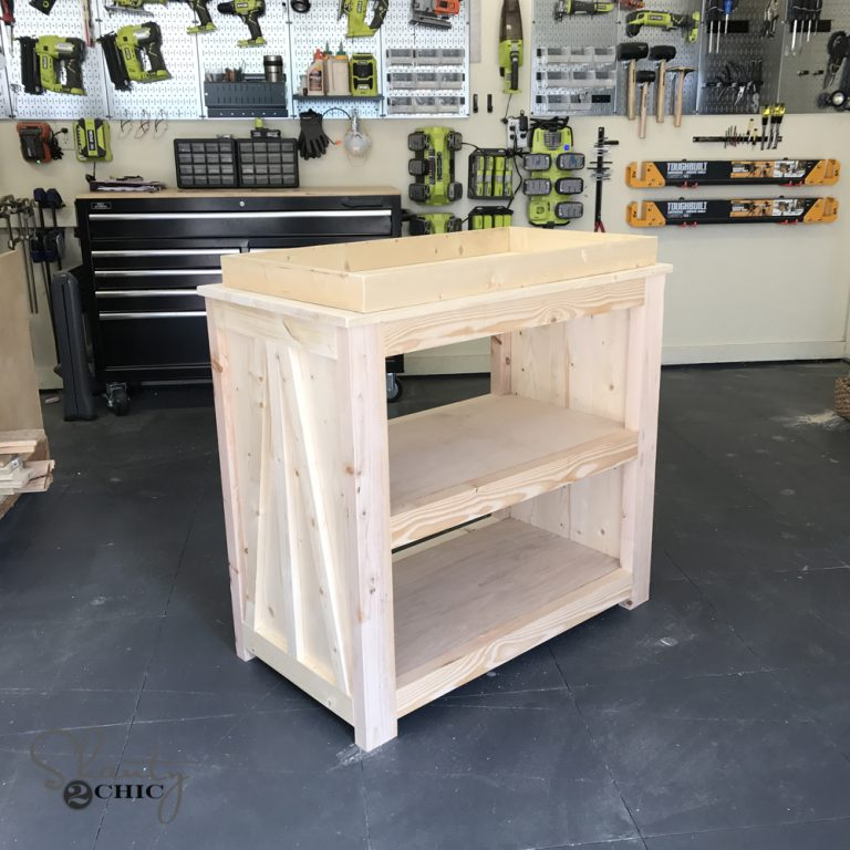 Diy Changing Table Free Plans Video Shanty2chic