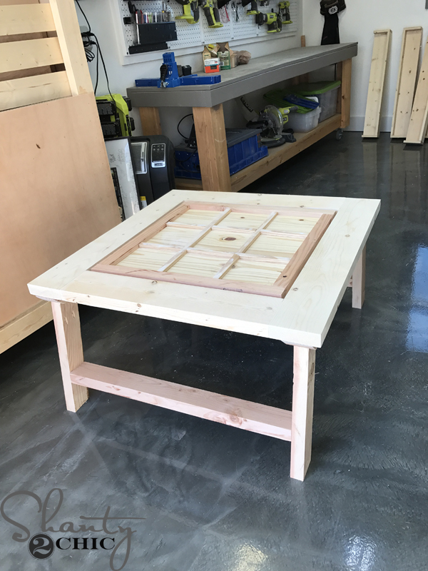 Diy Outdoor Game Table Shanty 2 Chic