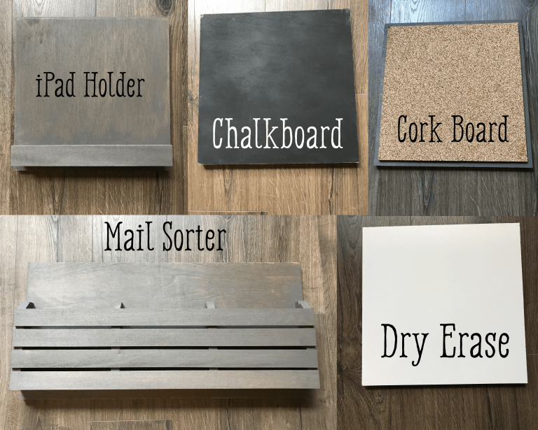 Custom DIY Wall Organizer