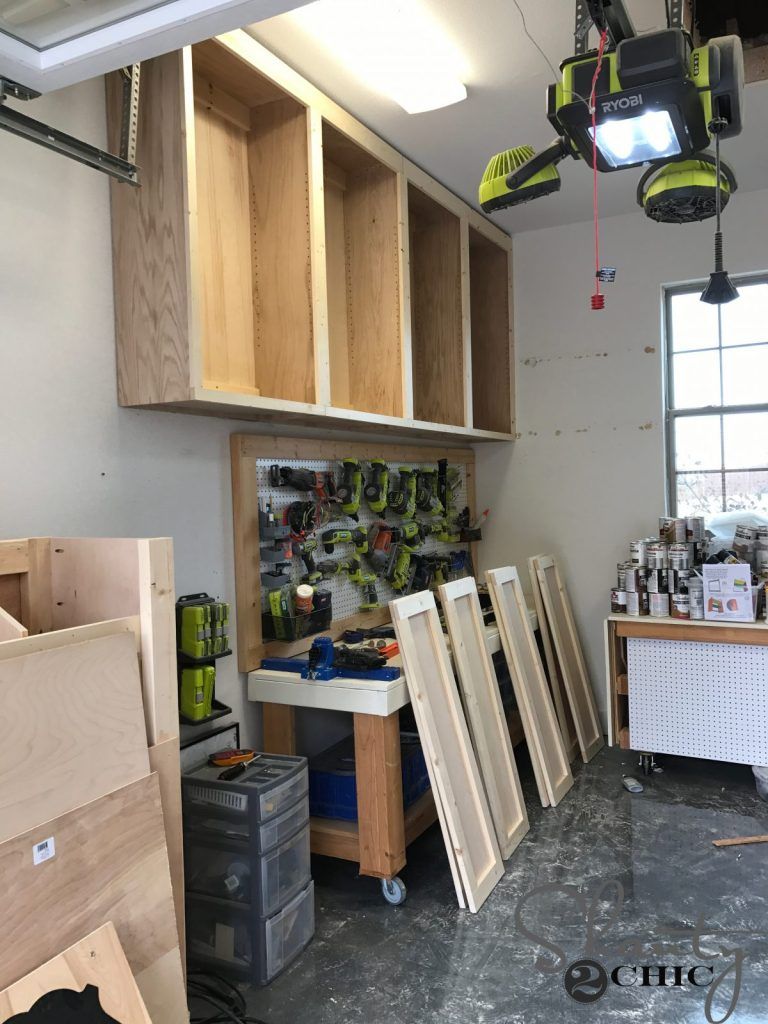 Diy Cabinets For A Garage Workshop Or Craft Room