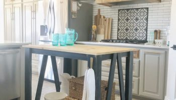 Diy Kitchen Island Free Plans How To Video Shanty 2 Chic