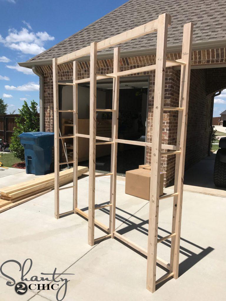 DIY Modern Farmhouse Plate Rack