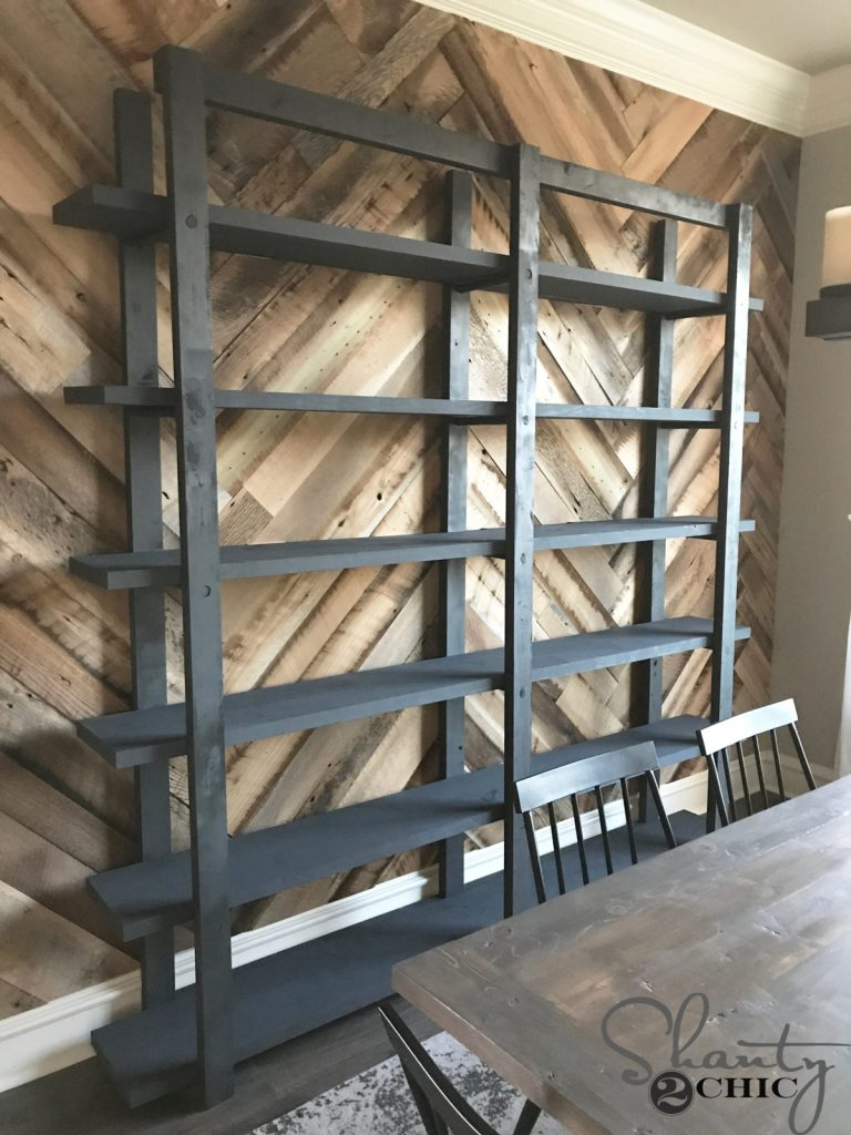 DIY Modern Farmhouse Plate Rack