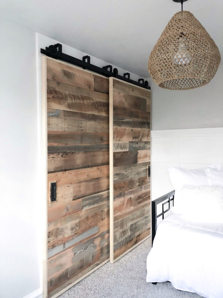 Modern Farmhouse Double Bypass Closet Doors
