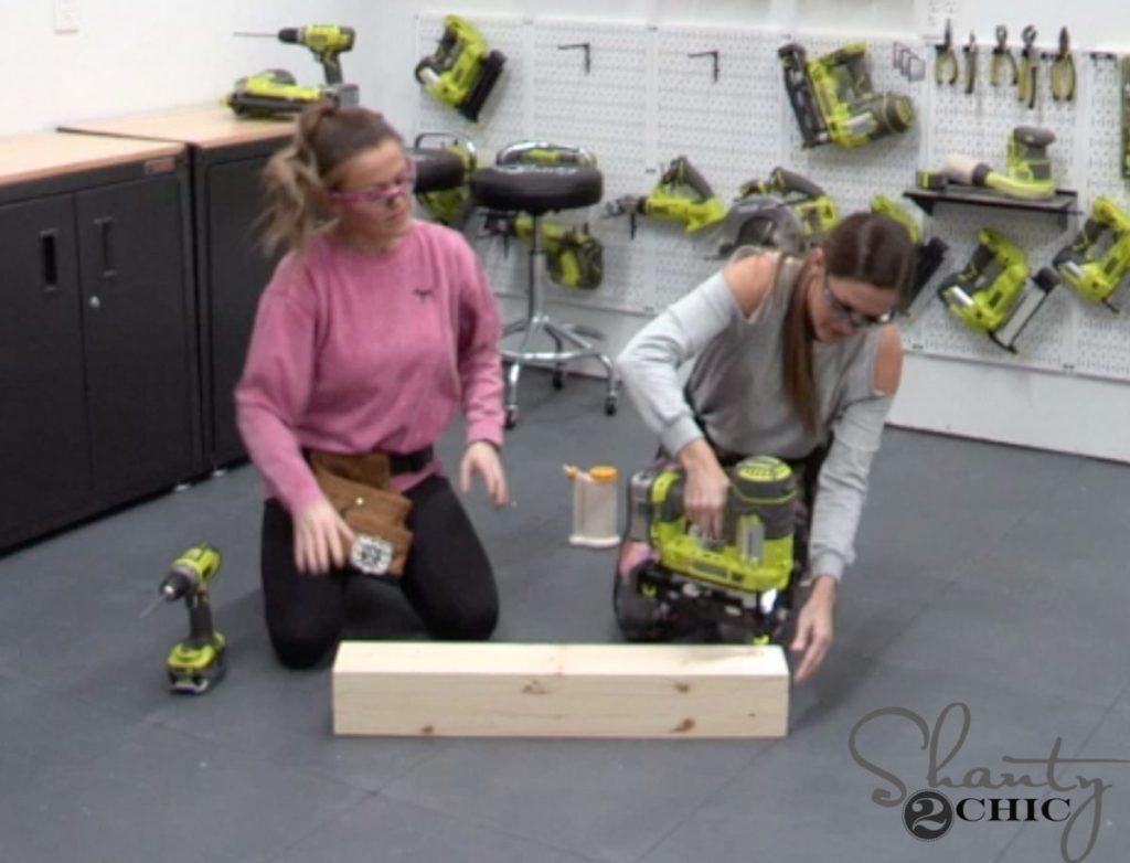 DIY Narrow Console Table