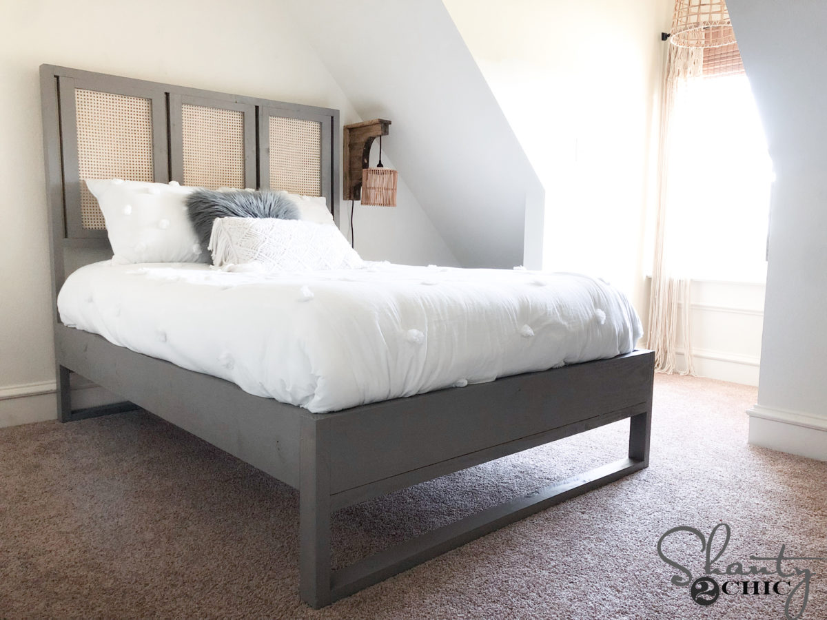 Diy Cane Bed Shanty 2 Chic