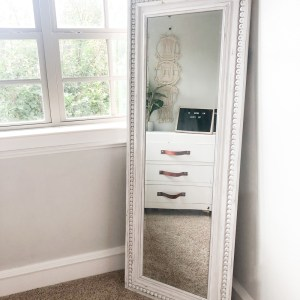 DIY Full Length Mirror Free Plans