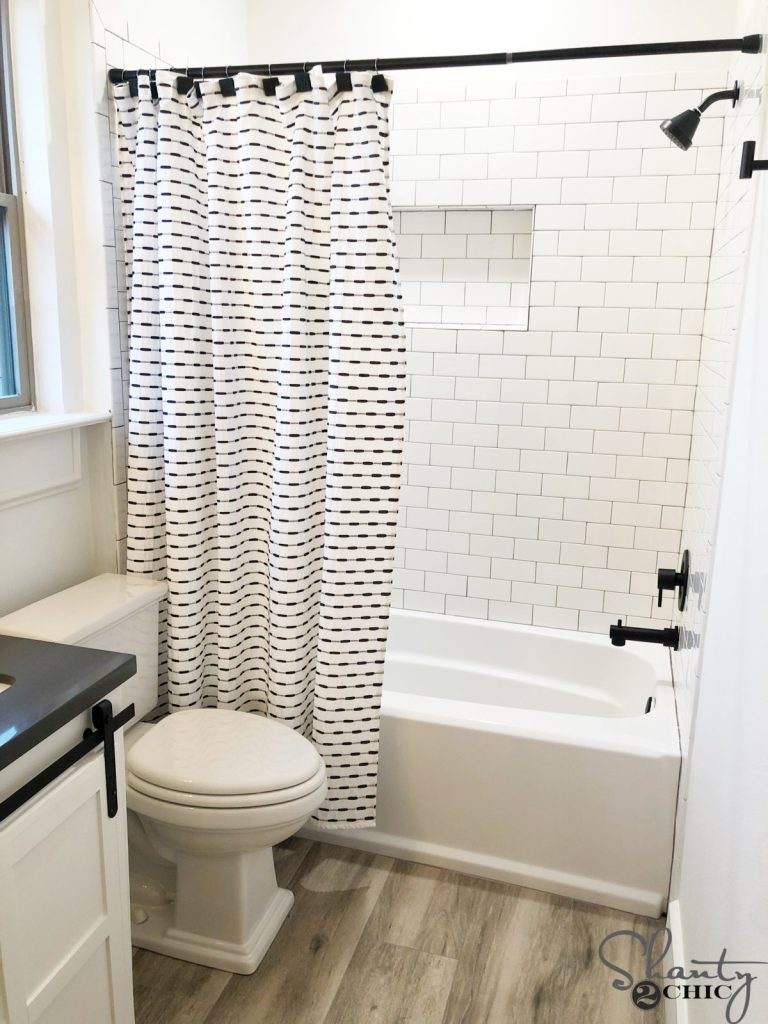 Modern Farmhouse Bathroom Reveal - Shanty 2 Chic on Modern Farmhouse Shower  id=13770