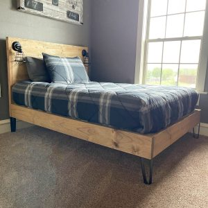 DIY Full Sized Bed Plans