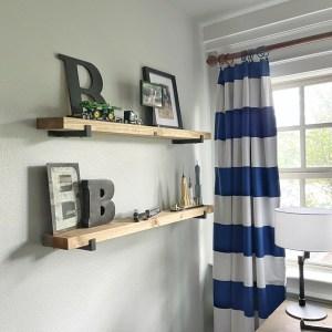 DIY Wall Shelves by Shanty2Chic