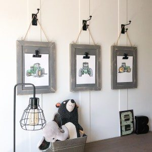 DIY Tractor Wood Frames by Shanty2Chic