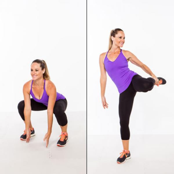 Balancing Squat