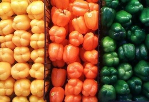 Στρογγυλές πιπεριές: