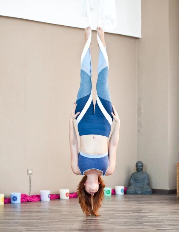 Shape Tested: Δοκίμασα aerial yoga (και έχω ενθουσιαστεί!)