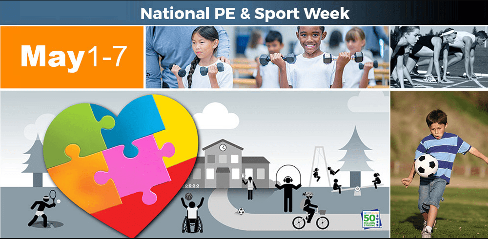 Celebrating National Physical Education and Sport Week
