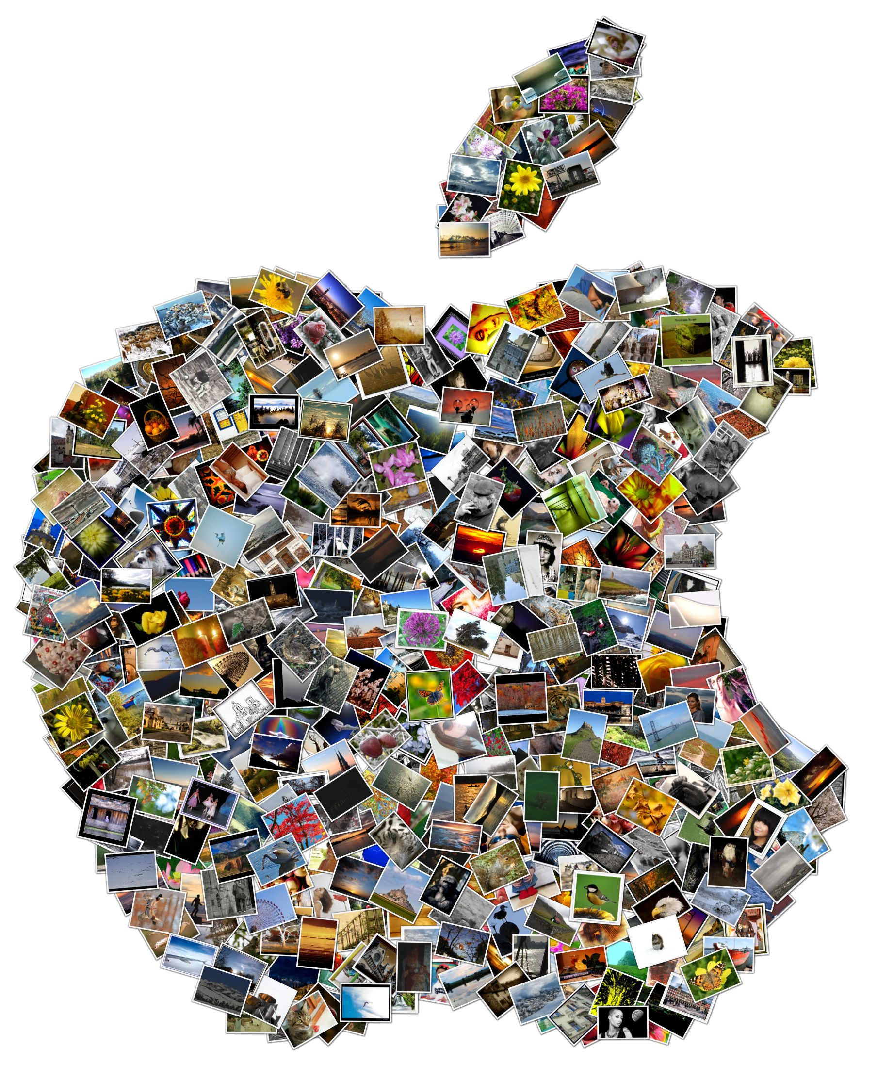 Mosaico o collage usando texto zona vertigo2040 - Como hacer un collage de fotos a mano ...