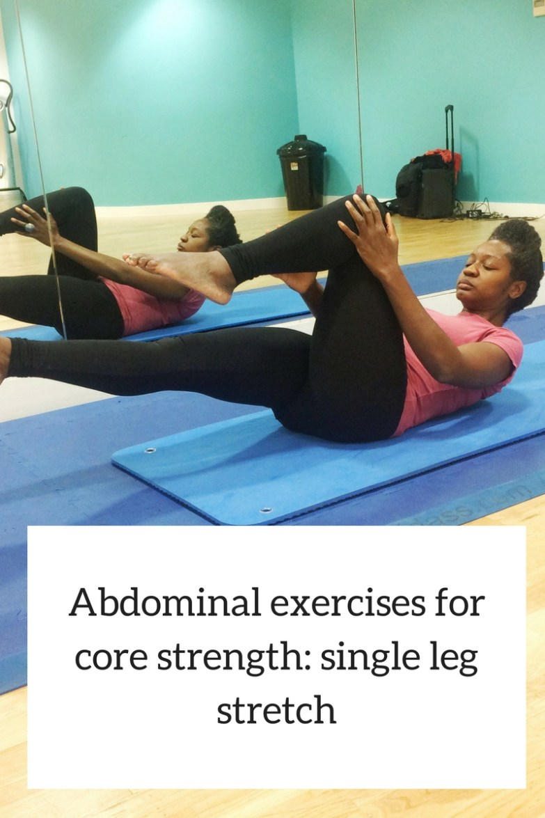 Abdominal exercises to strengthen core