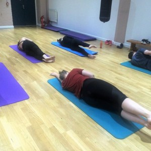 Pilates class in North London