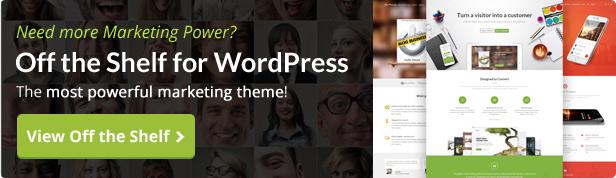 JustLanded - WordPress Landing Page 1