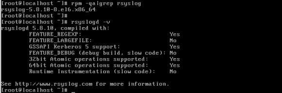 rsyslog version 7