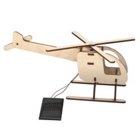 Elicottero Solare Legno