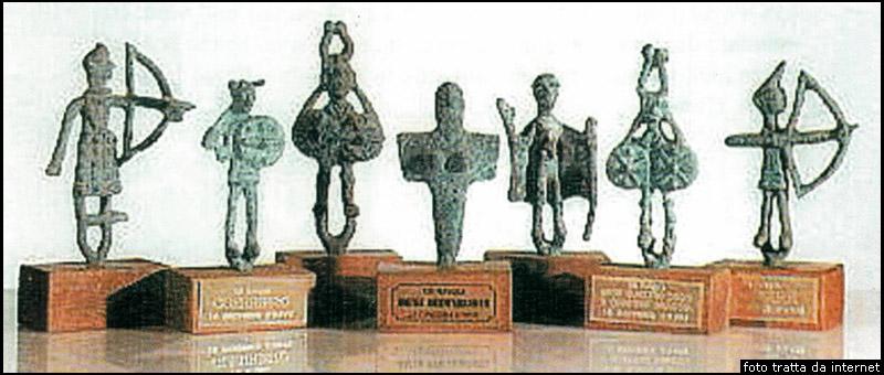 bronzetti shardana