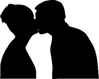 Kisses can hurt