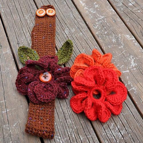 3-in-1 Super Easy Flowers Headband