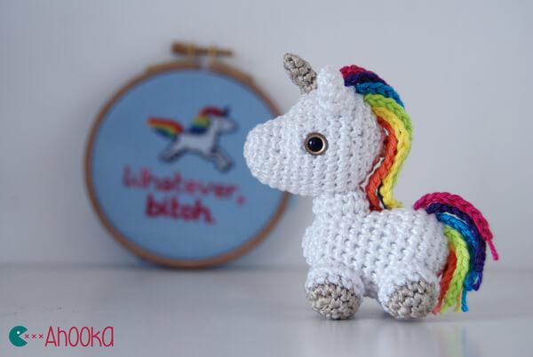 Tiny Rainbow Unicorn