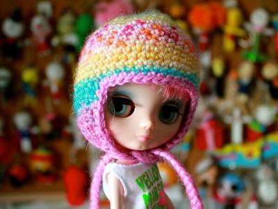 Middie Blythe Basic Earflap Hat