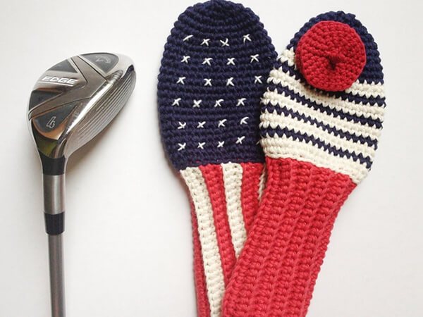 Paris meets California Golf Club Covers