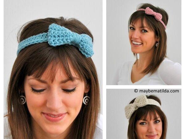 Bow Headband in 3 Sizes