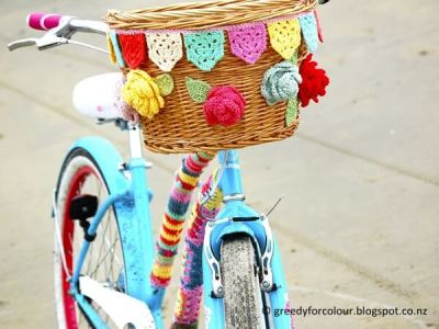 Bicycle Basket Bunting