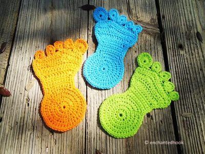 Happy Foot Coaster
