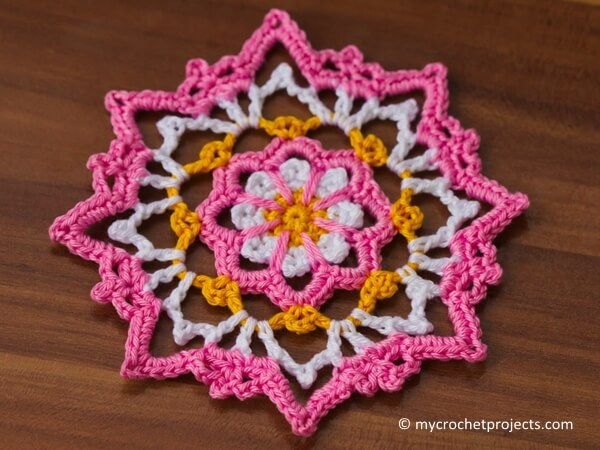 Small flower doily