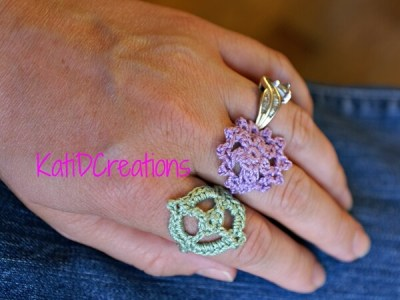 A Crocheted Ring