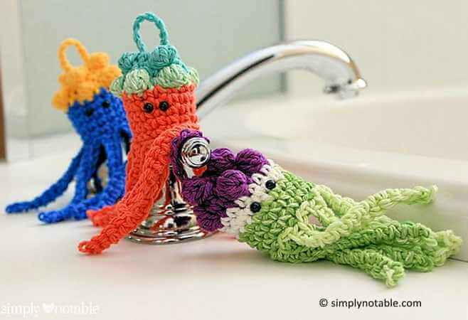 Jellyfish Bath Scrubbies