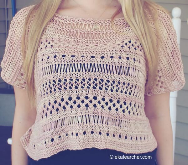 Cancun Boxy Lace Top