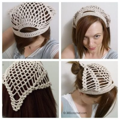Pineapple Head Hair Kerchief