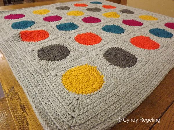 Super Cute Polka Dot Blanket