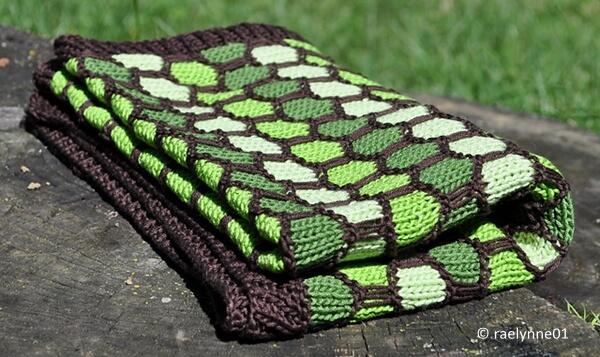 Honeycomb Stroller Blanket