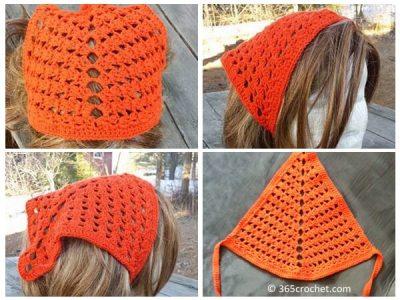 Tri-Shell Hair Kerchief